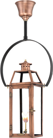 Bienville PL-BV-20 Half Yoke mount lantern from Primo Lanterns
