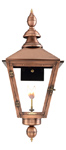 Charleston gas lantern from Primo Lanterns