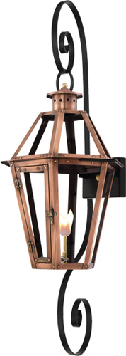 Rampart RT-23G Double Scroll mount lantern from Primo Lanterns