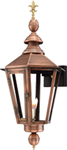 Vicksburg VB-27G Fleur de Lis Finial from Primo Lanterns