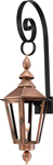 Vicksburg VB-27G Top Scroll Mount  from Primo Lanterns