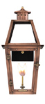 Acadian gas lantern with New Orleans style from Primo Lanterns