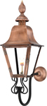 Audubon Gas lantern PL30G with gooseheck Mount