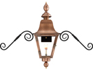 Audubon PL30 gas lantern with Mustache Mount from Primo Lanterns