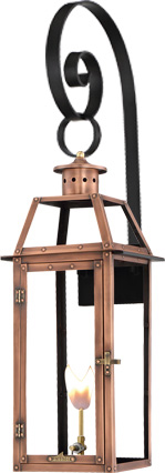 Bienville PL-BV-20 Top Scroll mount from Primo Lanterns