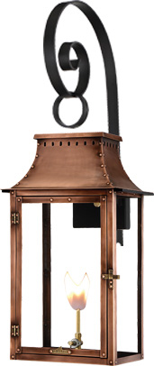 Breaux Bridge PL-BB-19G Top Scroll mount from Primo Lanterns