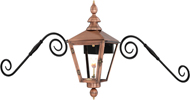 Charleston Moustache  mount form Primo Lanterns