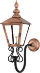 Charleston PL-CT-27G gooseneck mount from Primo Lanterns