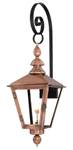 Charleston PL-CT-27G top scroll mount from Primo Lanterns
