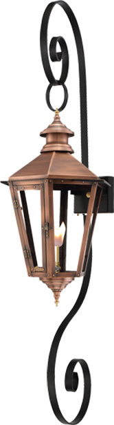 Nottoway NW26G Double Scroll Lantern from Primo Lanterns