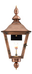 Oak Alley gas lantern with New Orleans style from Primo Lanterns