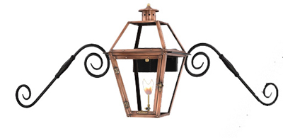Orleans Moustache Mount from Primo Lanterns