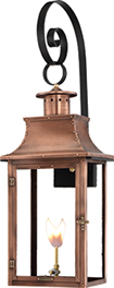 Royal Top Scroll mount from Primo Lanterns