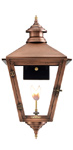 Savannah gas lantern with New Orleans style from Primo Lanterns
