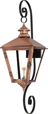 Savannah SV-30G double scroll mount from Primo Lanterns
