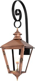 Savannah SV-30G Top Scroll Mount from Primo Lanterns