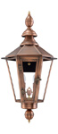 Vicksburg gas lantern with New Orleans style from Primo